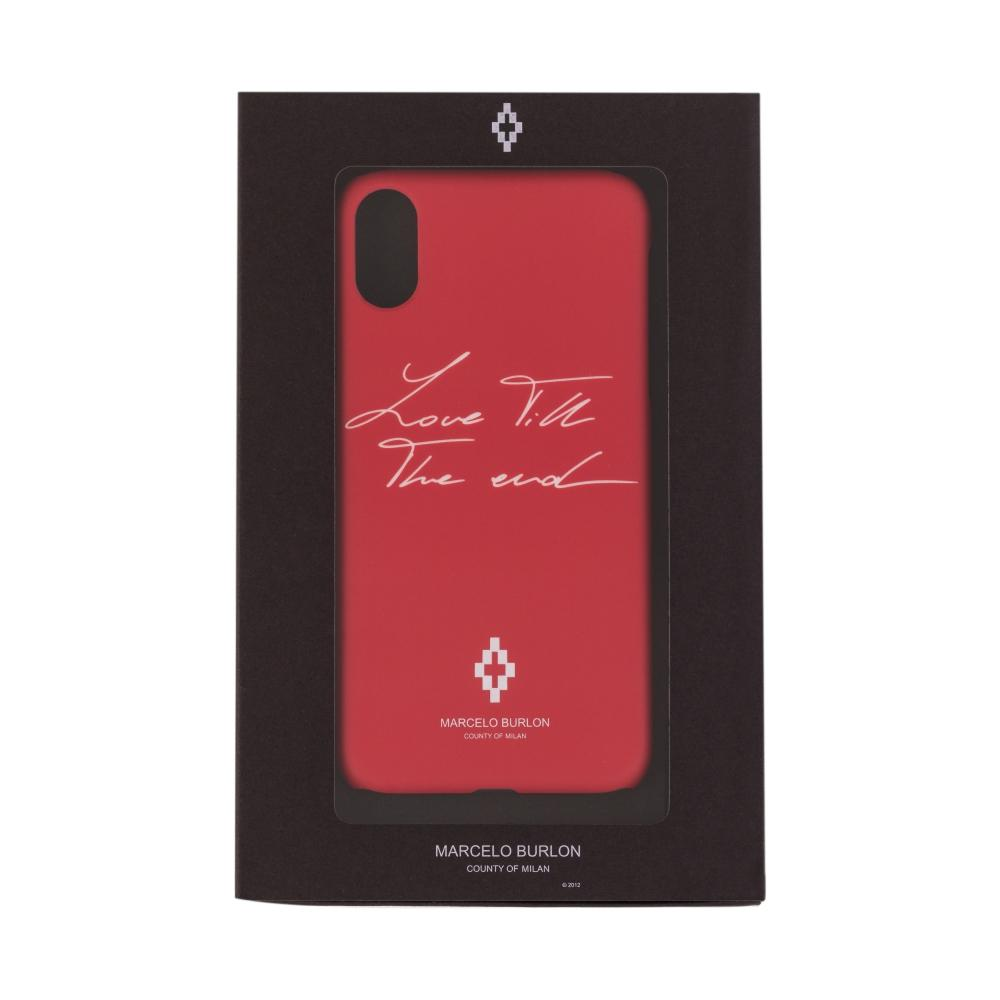 cover rossa iphone xr
